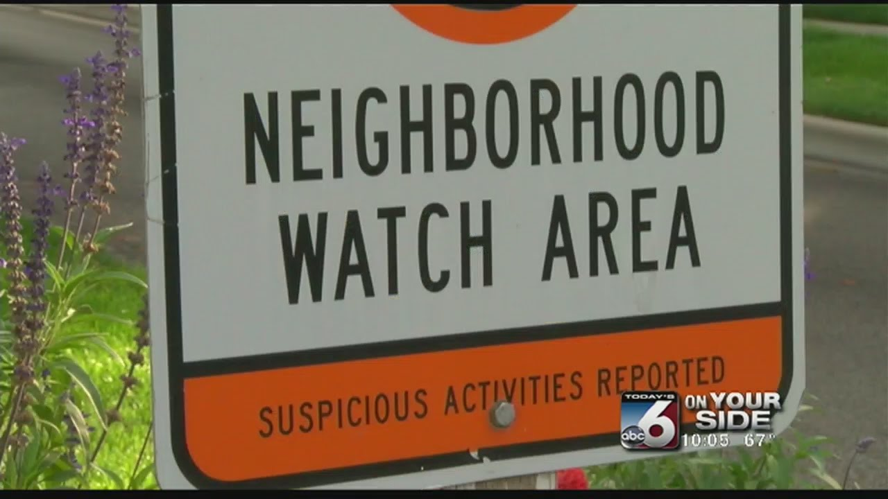 Neighbor watch for sex offenders