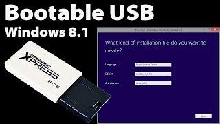 Create a UEFI Bootable Windows 8.1 or 10 USB Stick