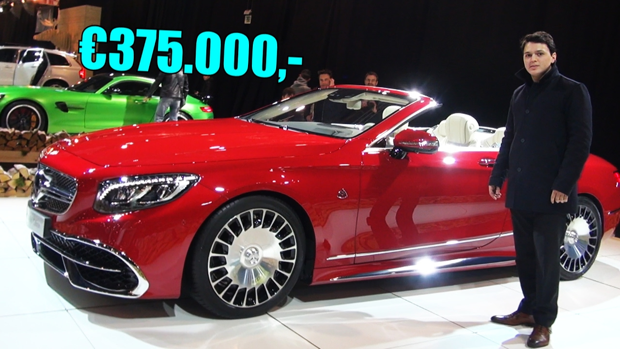 2017 Mercedes Maybach S Class S650 New Cabriolet Full Review Interior Exterior Engine