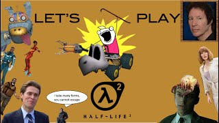 Let's Play Half-Life 2 - Part 1: Paparazzi Robots