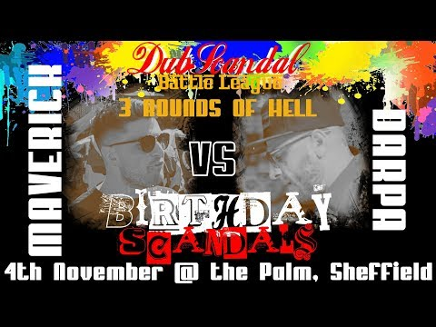 MAVERICK VS DARPA | DubScandal 3ROH Rap Battle