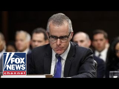 'Special Report' All-Stars on politics of McCabe's dismissal