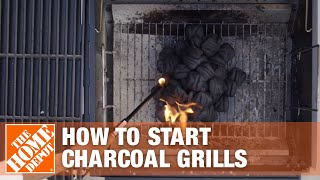 How to Start a Charcoal Grill | The Home Depot
