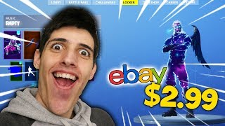 I BOUGHT A FORTNITE ACCOUNT FROM EBAY!?