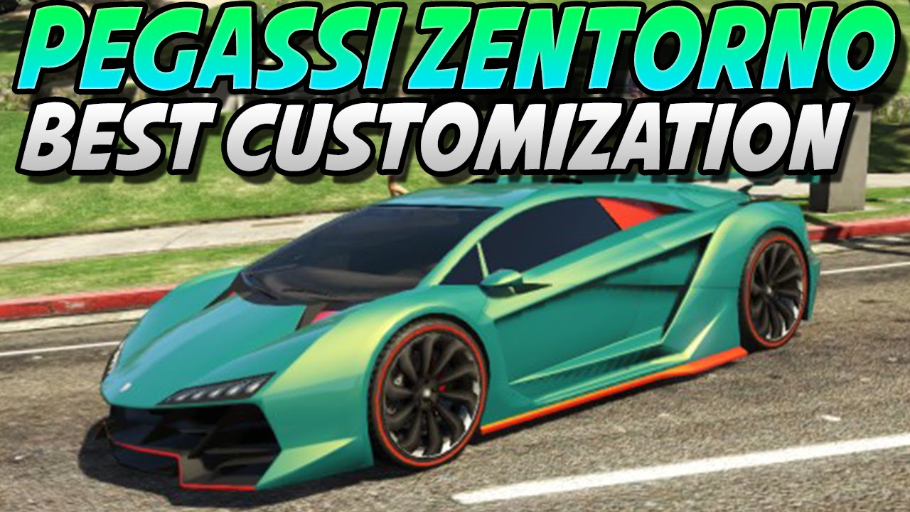 "GTA 5 - ""Pegassi Zentorno"" Best Car Customization? ep. #5 ..."