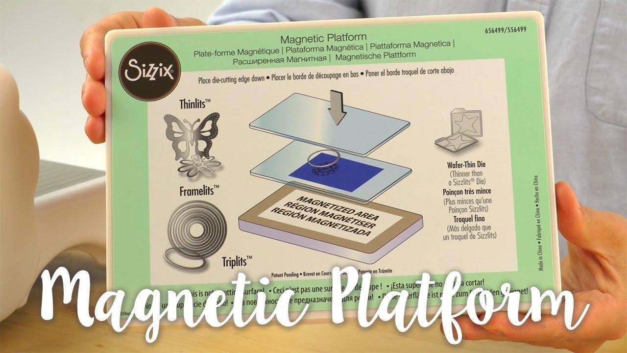 661900 Sizzix Big Shot Plus Accessory-Magnetic Platform