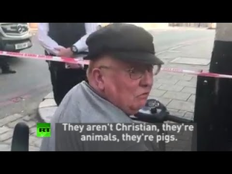 """They're animals, pigs"" says Julie on #FinsburyParkAttack"