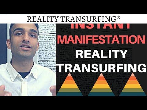 Instant Manifestation - Manifest Instantly Through Reality Transurfing