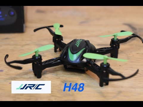 JJRC H48 Mini Drone Unbox and Flight Review