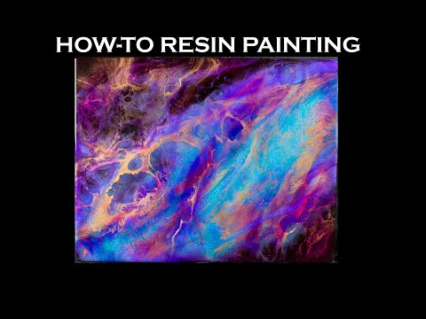Soul Fire Resin Painting How-To
