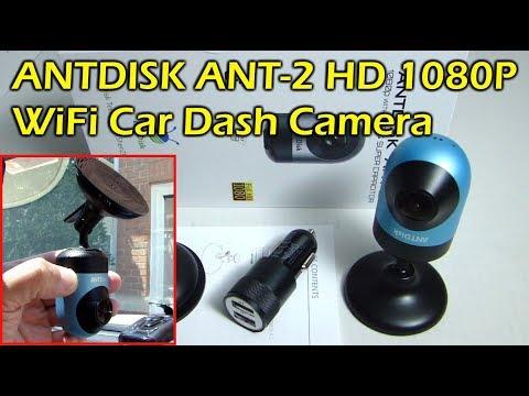 ANTDISK ANT-2 1080p WiFi Car Dash Camera