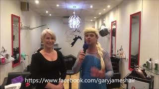 Gary James Hairdressing sponsors the 2019 Elsa Hour