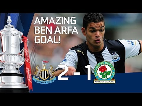 Ben Arfa Wonder Goal for Newcastle 2-1 Blackburn - Official Highlights and Goals FA Cup 3rd 07-01-12