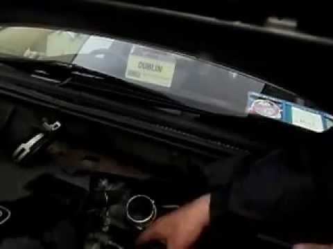 how to change fuel filter 2007 toyota avensis part 3 - YouTube