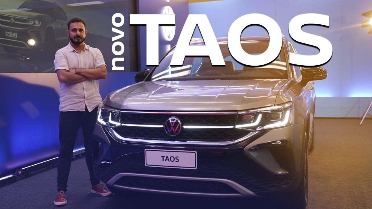 Volkswagen Taos: vimos o novo SUV médio pela primeira vez