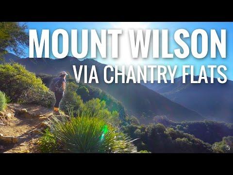 Hiking Mt. Wilson via Chantry Flats | Sony a6300 4K Footage
