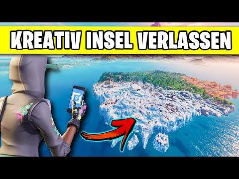 So verlasst ihr im Creative Mode die Insel 🏝️ | Fortnite Kreativ Modus Deutsch German