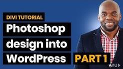 Elegant themes tutorial: Convert Photoshop design into WordPress website Part 1