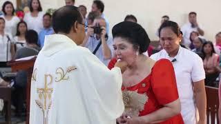 Sen. Bongbong Marcos - Family mass for mother
