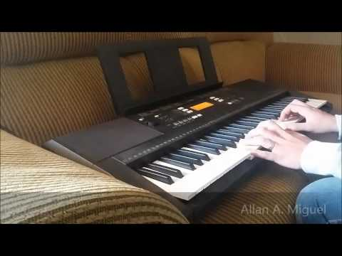 testing keyboard yamaha psr e343 playing by allan a miguel youtube. Black Bedroom Furniture Sets. Home Design Ideas