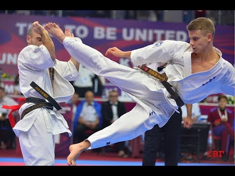 Kyokushin Karate World Championship-2017. Final. Ivan Tumashev - Dmitry Moiseyev.