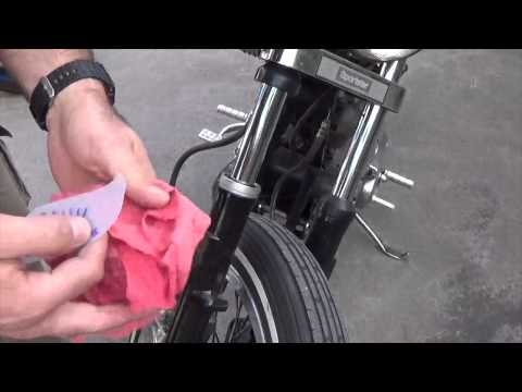 How to clean out fork seals (for free)