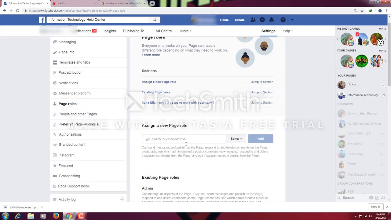 How To Remove Yourself as a Facebook Page Admin - YouTube