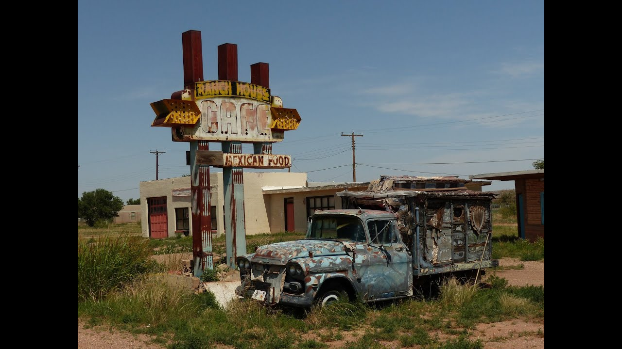 How To Stop Rust >> Tucumcari - Route 66 - Abandoned motels, derelict vehicles - YouTube