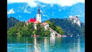 Lake Bled Walking Tour ,Slovenia in Ultra 4K