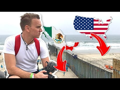 VIDEO: Asi se CRUZA la frontera 🇺🇸 ESTADOS UNIDOS 🇲🇽 MEXICO a Pie - Oscar Alejandro