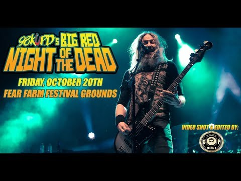 Big Red Night Of The Dead Featuring Mastodon & In This Moment