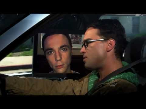 The Big Bang Theory - ShelBot (in the car) - The best bazinga ever