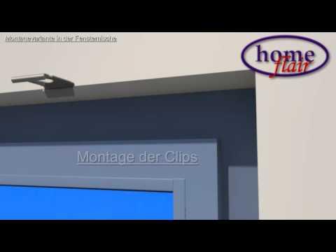 Plissee Montageanleitung Plissees Jalousie Montage In Der