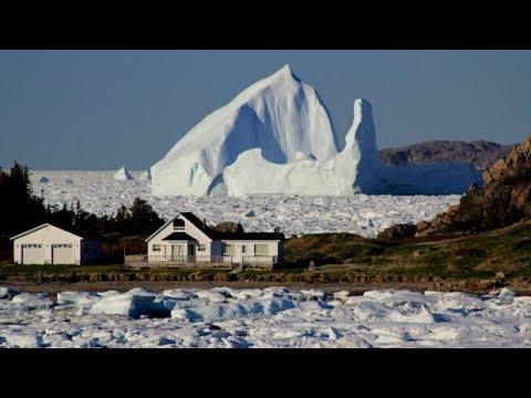 North Atlantic Record Iceberg Season & Ice Arches Around Greenland (605)