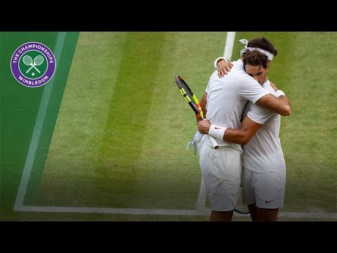 Nadal vs Del Potro at Wimbledon, with GOAT commentary
