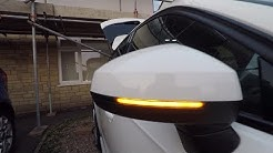 Audi A3 8V Dynamic Mirror Indicators Install