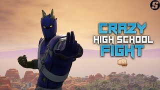 Crazy High School Fight!