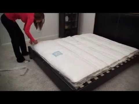 Com Signature Sleep Essential 6 Inch Twin Mattress White Memory Foam Mattresses