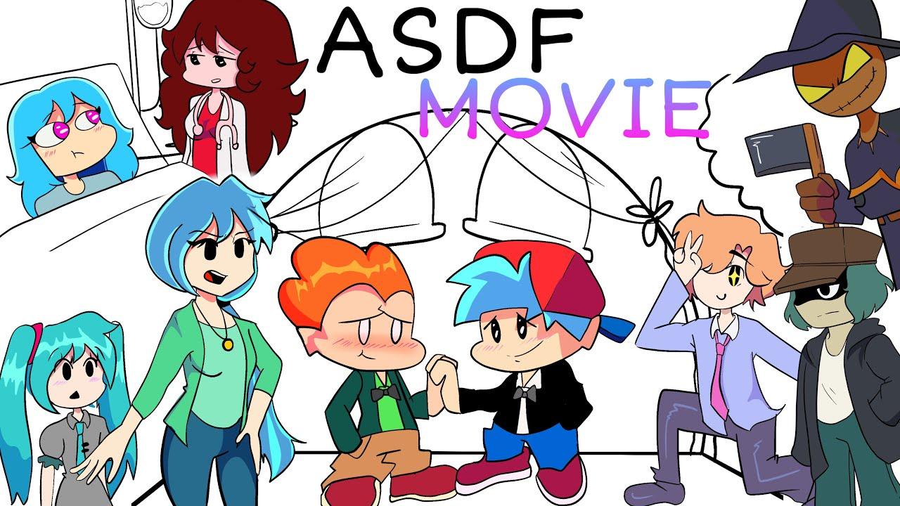 ASDF MOVIE but ITS FRIDAY NIGHT FUNKIN'   FUNNY ANIMATION   Sarahlyn Arts