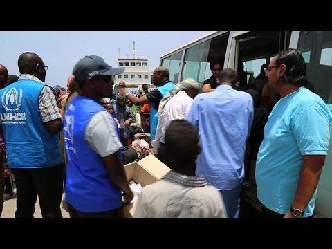 Thousands of refugees flee Yemen to Djibouti