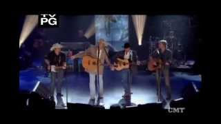 "Alan Jackson ((With George, Dierks, & Brad)) -  ""Country Boy"""
