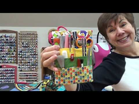 VLOG:  Chat, Point Match, Quilts in Progress, FitNice, Fun Notion Holder