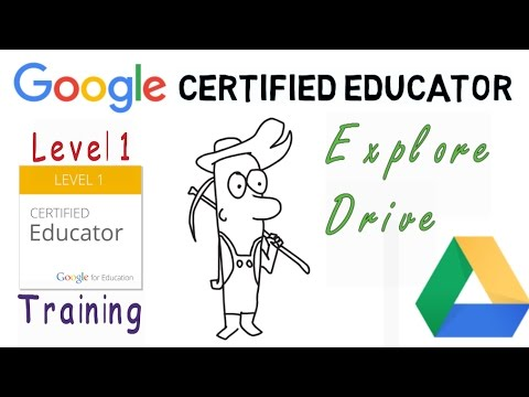 Google Certified Educator Exam: Explore Google Drive - YouTube