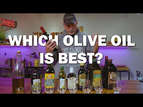 What Is The Best Olive Oil?  Olive Oil Review!