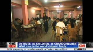 39 Wives, 86 Children, 35 Grandchildren - World's Biggest Family