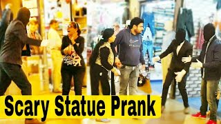 Scary Human Statue Prank In India 2019 (Gone Wrong)| Mannequin prank in  india