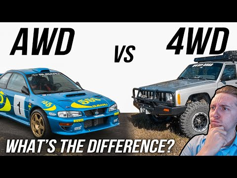 AWD vs 4WD: What's The Difference?