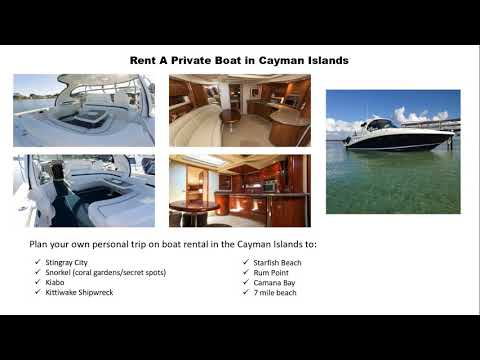 Explore the Cayman Islands in Your Own Private Boat
