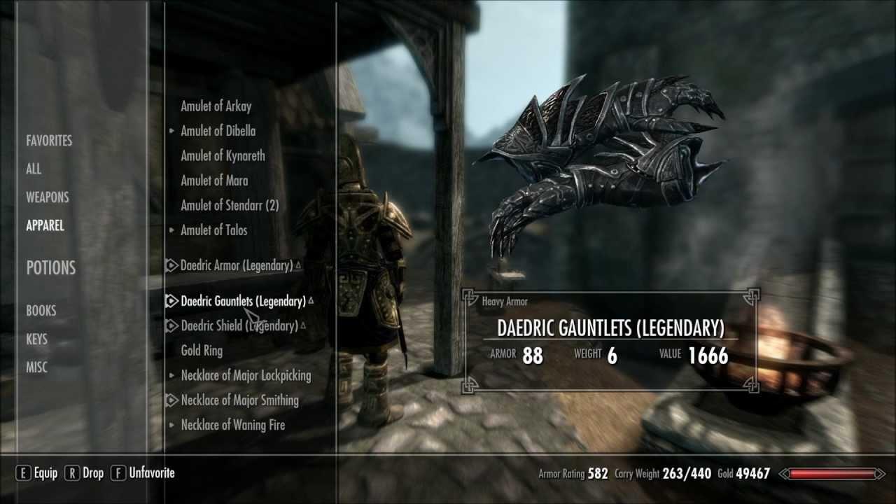 skyrim smithing legendary does not always mean best youtube rh youtube com Skyrim Light Armor Skyrim Daedric Armor