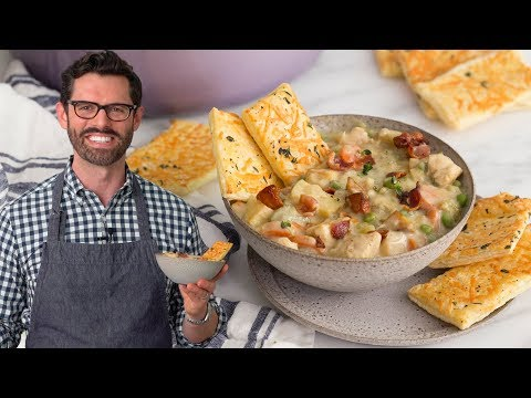 Chicken Pot Pie Soup!